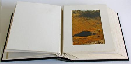 Passepartout Foto Album mit Koffer